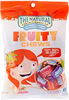 The Natural Confectionery Company Mix Fruity Chews, 10 x 220 Grams
