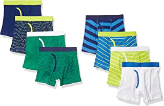 Amazon Essentials Boys' 8-Pack Boxer Brief Niños