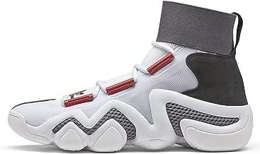 adidas Mens Crazy 8 A/D White/Red-Black Mesh