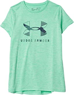 Graphic Twist Big Logo Short Sleeve T-Shirt (Big Kids)