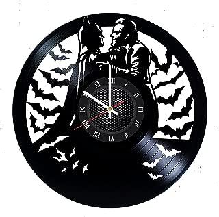 Ma Va Joker Batman Vinyl Record Wall Clock Gift for Fans Great Idea Home Decor DC Comics Vintage Decoration - Buy Gift for Everybody