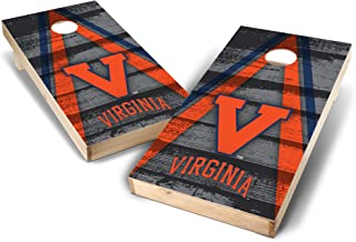 Wild Sports NCAA College 2' x 4' Authentic Cornhole Game Set - Vintage Triangle Design