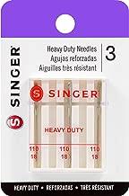 Singer - Agujas para máquina de Alta Resistencia, Size 18 3/Pkg, 1-Paquete, 1