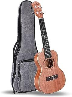 UKELE Soprano Ukulele 21 Inch Ukelele Professional Wooden Beginner Instrument Small Hawaiian Guitar with Gig Bag for Starter
