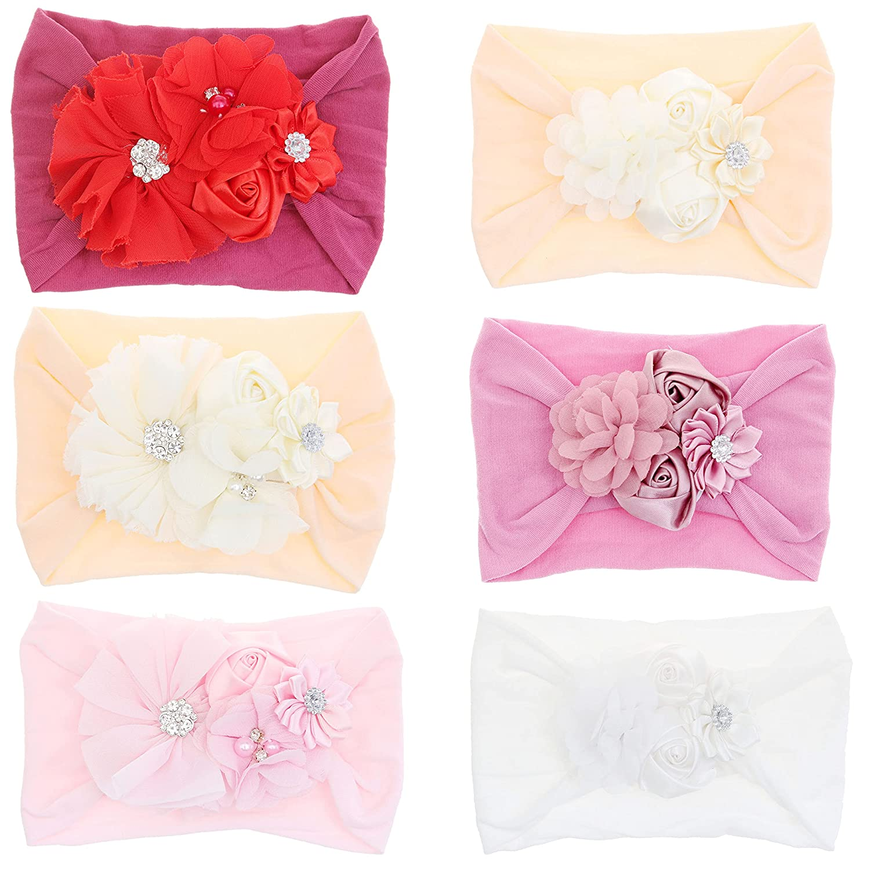 6PCS Baby Nylon Headbands Hair Phoenix Mall Acces Hairbands Elastic Bows Purchase