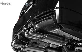 Vicrez BMW M3 E92 E93 2007-2013 VZ Style Carbon Fiber Rear Diffuser vz100396