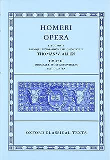 The Odyssey, Books 1-12 (Oxford Classical Texts: Homeri Opera, Vol. 3) (Greek and Latin Edition)