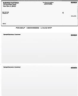 Grey Safety Top Style Computer Checks (50 Checks)
