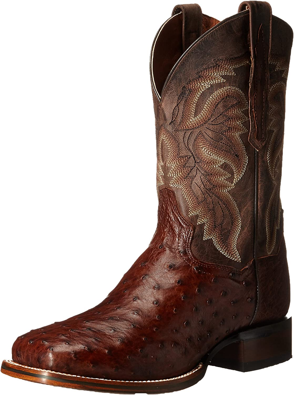 Dan Post Men's Alamosa Weekly San Antonio Mall update Western US 10.5 Boot D Chocolate