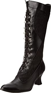 Best women's victorian lace up boots Reviews