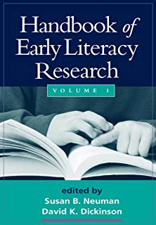 Handbook of Early Literacy Research