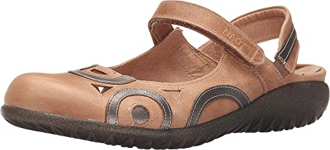 NAOT Rongo Latte Brown Leather/Pewter Leather 40 (US Women's 9)