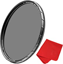 49mm X2 CPL Circular Polarizing Filter for Camera Lenses - AGC Optical Glass Polarizer Filter with Lens Cloth - MRC8 - Nan...