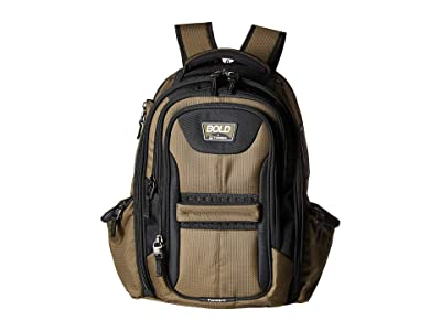 Travelpro BOLD by Travelpro Computer Backpack (Olive/Black) Backpack Bags
