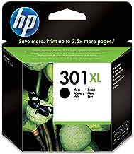HP 301XL - Cartucho de tinta Original HP 301 XL de álta capacidad Negro para HP DeskJet, HP OfficeJet y HP ENVY