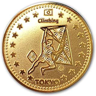 "Tokyo Sports Gold Medals""CLIMBING"" 東京 スポーツ ゴールド オリジナルコイン""クライミング"" 記念メダル"