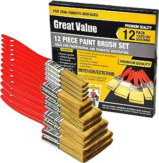 12 Piece Premium Touch up, Paint Brush,Paint Brushes,Paint Brush Set,Paint Tools,Home Repair Tool kit,Tools,Tool kit,Tool Set,Home Tool kit,Tools