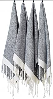 f3db45af94  SET OF 4  Unique Turkish Cotton Peshtemals   Towels - Size (20