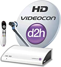 Videocon d2h HD Digital Set Top Box with 1 Month Super Gold HD Free