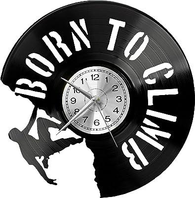 WoD - Reloj de Pared de Vinilo, diseño de Escalada: Amazon.es ...