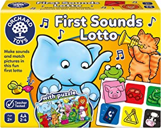 Orchard Toys First Sounds Lotto Board Game, multi-colour
