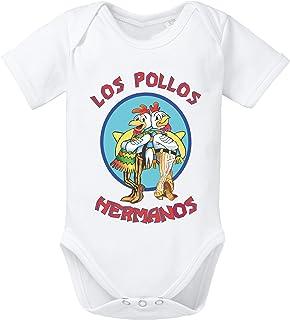 WhyKiki Los Pollos Baby Strampler Body Hermanos Bad Heisenberg Breaking