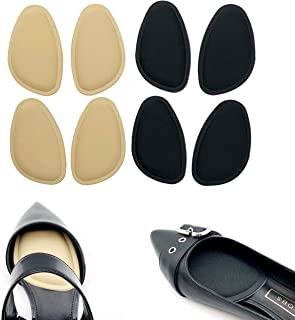 【CaserBay】4 Pairs Set Pain Relief, All-Day Comfort, Forefoot Shoe Metatarsal Pads Ball of Sponge Foot Cushions Inserts Ins...
