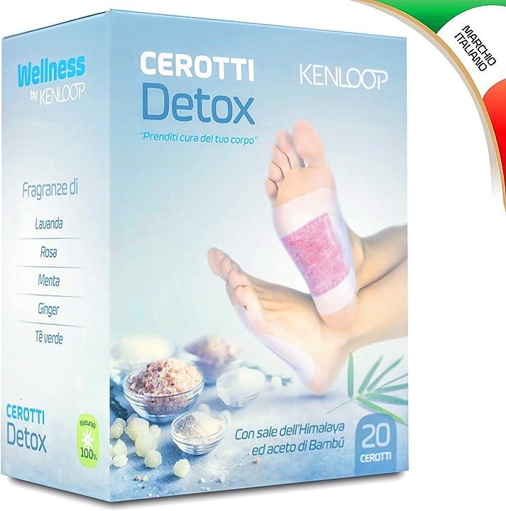 Cerotti detox per i piedi B07R1R8V56