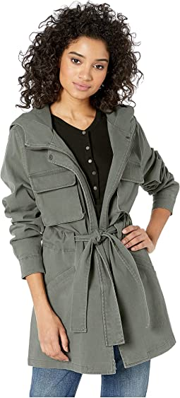 e468b6b4b Bb dakota rowe drape front leather jacket + FREE SHIPPING | Zappos.com
