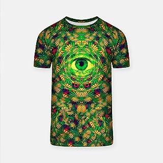289e04eca8a WolfCases Woke T-Shirt Fit for Men Third Eye Design Shirt All-Over Print