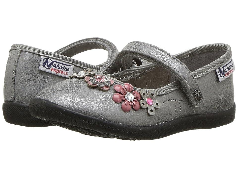 Naturino Express Nicolina (Toddler/Little Kid) (Silver) Girls Shoes