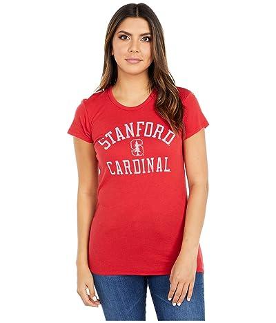 Champion College Stanford Cardinal Keepsake Tee (Red) Women
