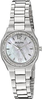 Bulova - Reloj Analógico para Mujer de Cuarzo con Correa en Acero Inoxidable 96R199