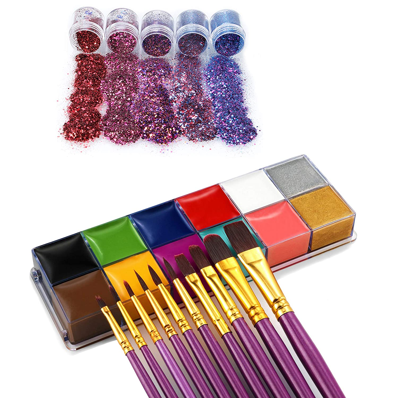FANICEA Face Ranking TOP7 Body Surprise price Paint Oil Professional Colors Hypoallergeni 12