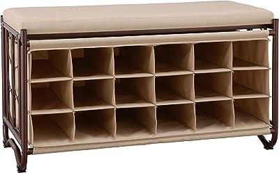 Super Amazon Com Prepac Shoe Storage Cubbie Bench 24 X 48 X 16 Caraccident5 Cool Chair Designs And Ideas Caraccident5Info