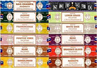 Bulk Mix - SATYA NAG Champa Incense 15GMS - 12 Packs