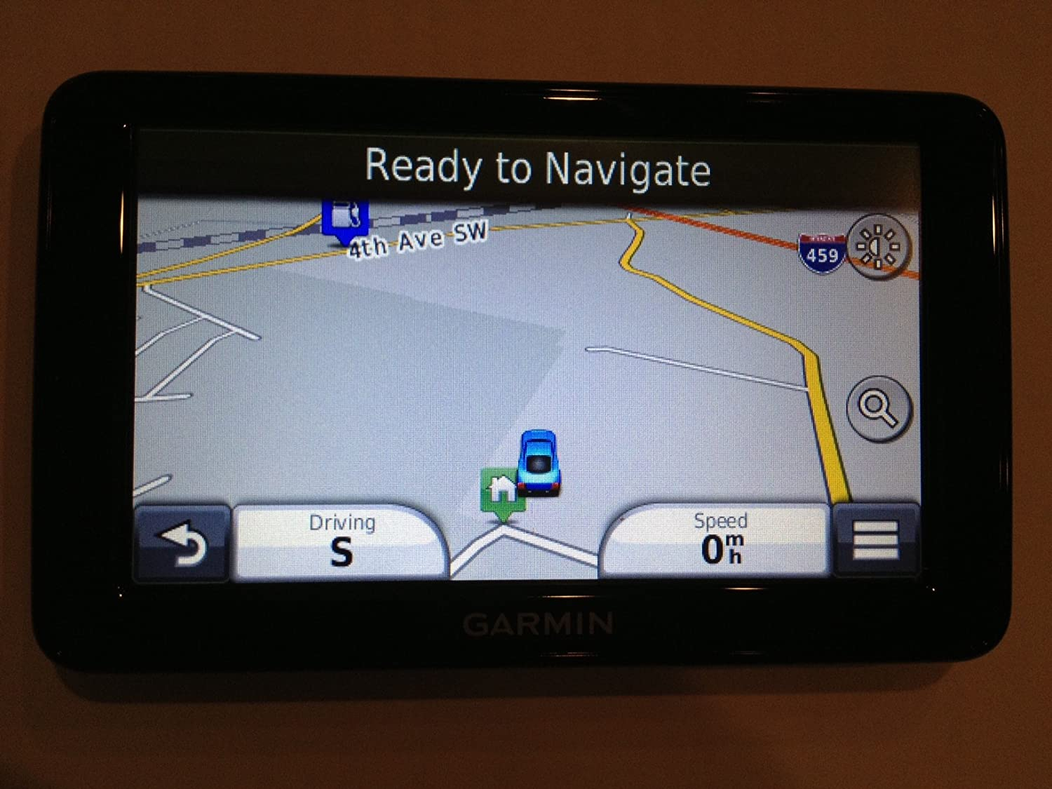Garmin 5 in. GPS Navigator with United States Map Coverage and Lifetime Map Updates