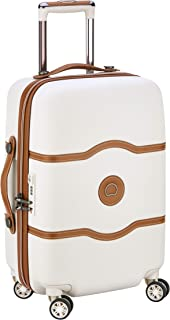 Delsey Paris Chatelet Air 55 cm 4 Double Wheels Cabin Trolley Case Carry-On (Softside), Angora (00167280115)