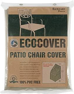 Mr. Bar-B-Q Backyard Basics Eco-Cover PVC Free Premium Patio Chair Cover