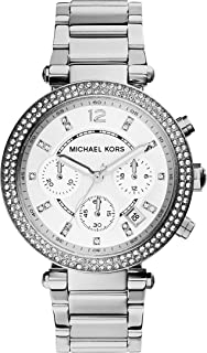 Michael Kors Women's Quartz Watch, Chronograph Display and Stainless Steel Strap MK5353