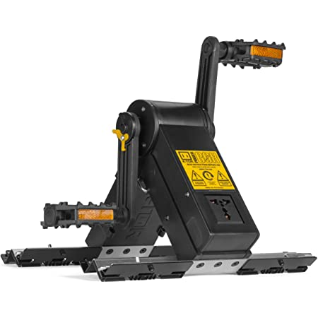 K-TOR Power Box 20 Watt Pedal Generator, Can Charge a 12 Volt Battery, Bundled with Powersteam 12 Volt Charger and Cree Rechargeable Flashlight with Integrated USB