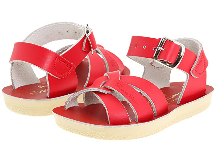 Salt Water Sandal by Hoy Shoes  Sun-San - Swimmer (Toddler/Little Kid) (Red) Kids Shoes