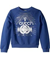 Gucci Kids - Embroidered Sweatshirt (Little Kids/Big Kids)