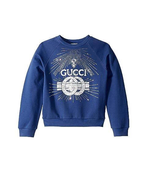 Gucci Kids Embroidered Sweatshirt (Little Kids/Big Kids)