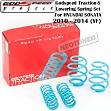 Godspeed (LS-TS-HI-0003) Traction-S Lowering Spring Set For Hyundai Sonata 2011-2014 gsp set kit