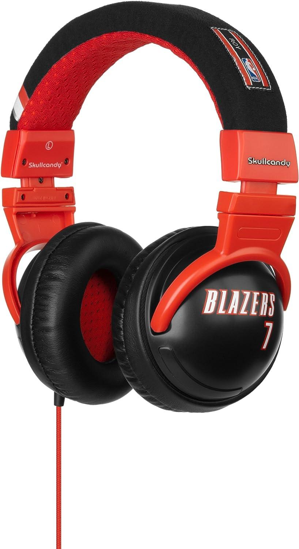 Skullcandy Hesh NBA BLAZERS Brandon Roy - Auriculares de diadema abiertos (con micrófono)