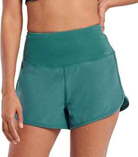 Workout Shorts for Women Active Wear Yoga Running Athletic Shorts Built in Underwear