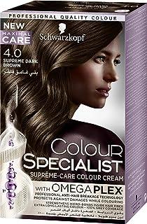 Schwarzkopf Colour Specialist Supreme-Care Colour Cream, 4.0 Dark Brown