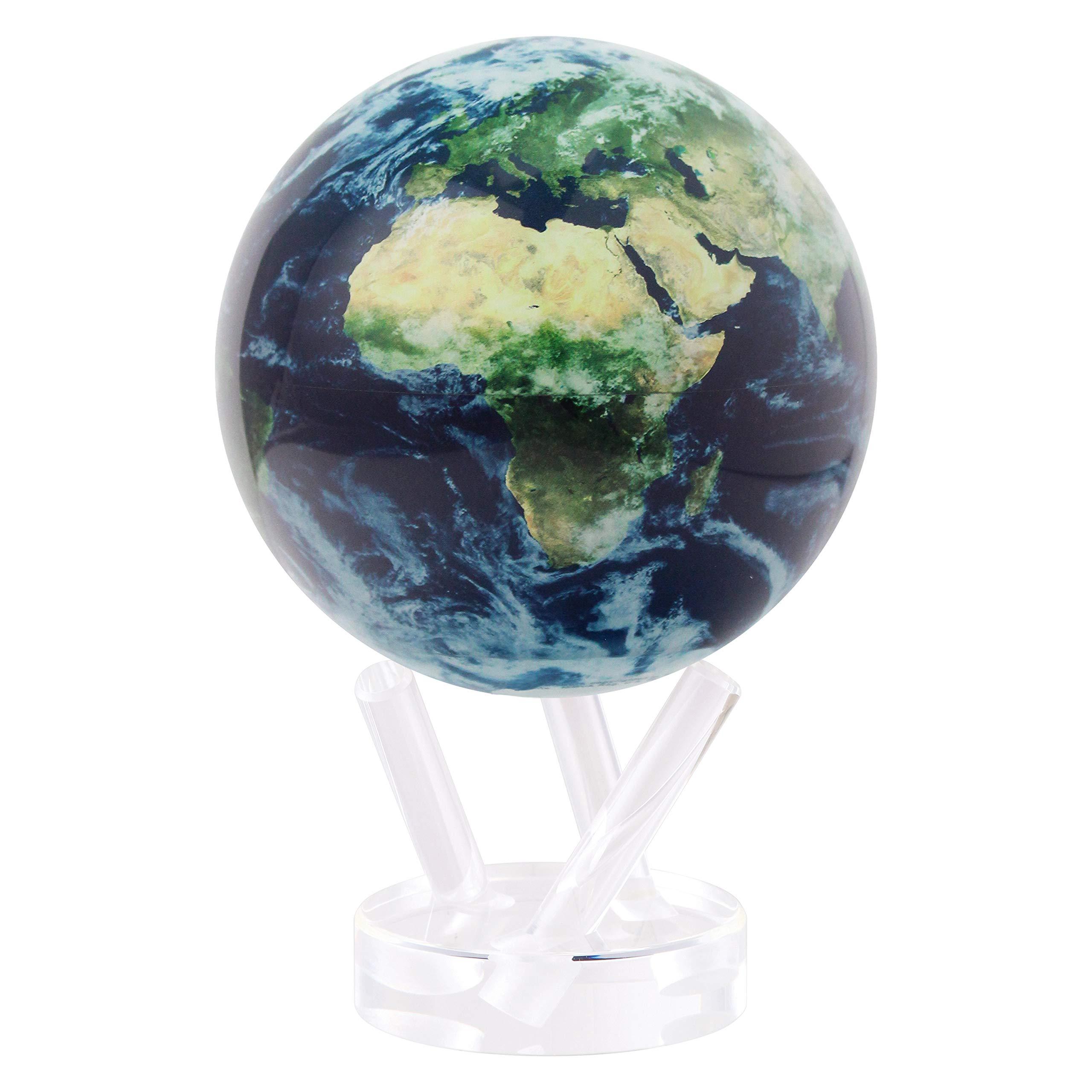 Mova Rotating Globe Natural Earth Satellite 4.5 inch.