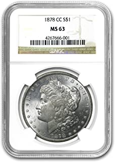 90% Silver Ngc Ms 62 Up-To-Date Styling Helpful 1884 O United States Morgan Silver Dollar Coin